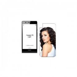 COVER IN PLASTICA 2D HUAWEY P8 LITE
